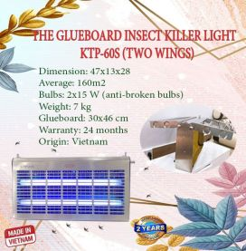 THE GLUEBOARD INSECT KILLER LIGHT KTP-60S (TWO WINGS)